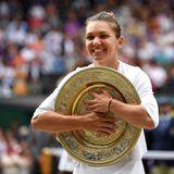 Simona Halep makes history at Wimbledon