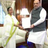 अमित शाह से मिलीं ममता बनर्जी, बंगाल में NRC को नकारा
