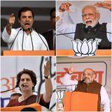 झारखंड में स्ट्राइक रेट: प्रियंका गांधी 100%, राहुल गांधी 60%, नरेन्द्र मोदी 44%, अमित शाह 22%