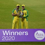 Maxwell and Carey centuries help Australia win ODI series in England