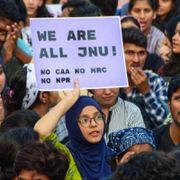 Live: Protest march against JNU violence