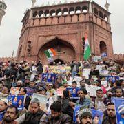 Live from Jama Masjid: Chandrasekhar Azad visits anti-CAA protest site