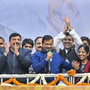 Delhi Assembly Election Result: दिल्ली में 'आप' ही 'आप', बाक़ी सब साफ़