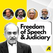 Prashant Bhushan, Justice Madan B Lokur, Yogendra Yadav, N Ram & Aruna Roy discuss freedom of speech & judiciary | LIVE