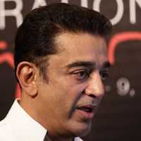 Kamal reiterates intention to join hands with Rajini