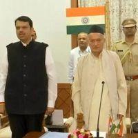 Twist in Maharashtra: Fadnavis takes oath as Chief Minister, Ajit Pawar Deputy CM