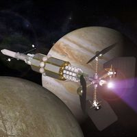 A plasma-based spacecraft can halve the time to reach Mars