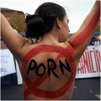 I don't disagree with the porn ban - and I'm not religious