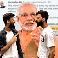 प्रधान मंत्री Narendra Modi social media पर खेल गए | Delhi Violence मामले में पकड़ा गया shah rukh