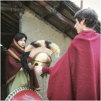 Photos: Hypothetical reenactment of customs and traditions of Etruscan warriors: 4th/5th Century BC