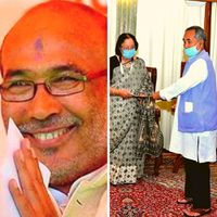 BJP's trouble in Manipur ends; NPP MLAs extend support to Biren Singh govt