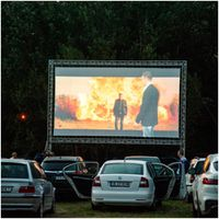 Photos: Cinema and Stars, a travelling outdoor cinema touring Bulgaria