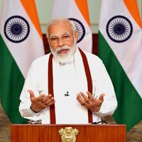 Those casting evil eye on Indian soil got befitting response: PM Modi