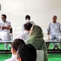 Rajasthan Crisis: 96 MLAs at Gehlot's house, Congress says 'doors open for Pilot'