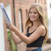 Photos: UK students receive GCSE results based on teacher predictions