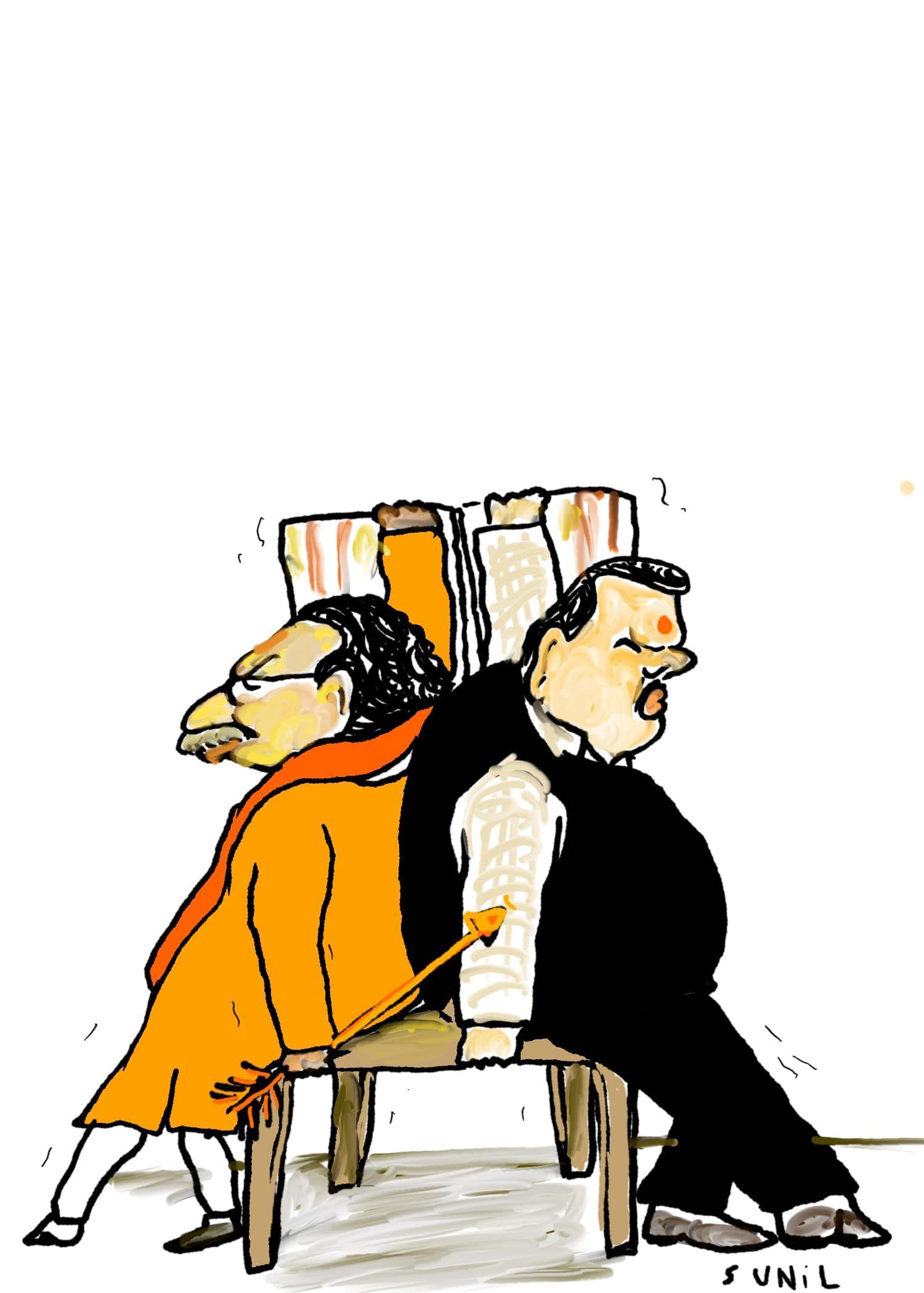 BJP-शिवसेना के बीच हुआ सीट बंटवारा