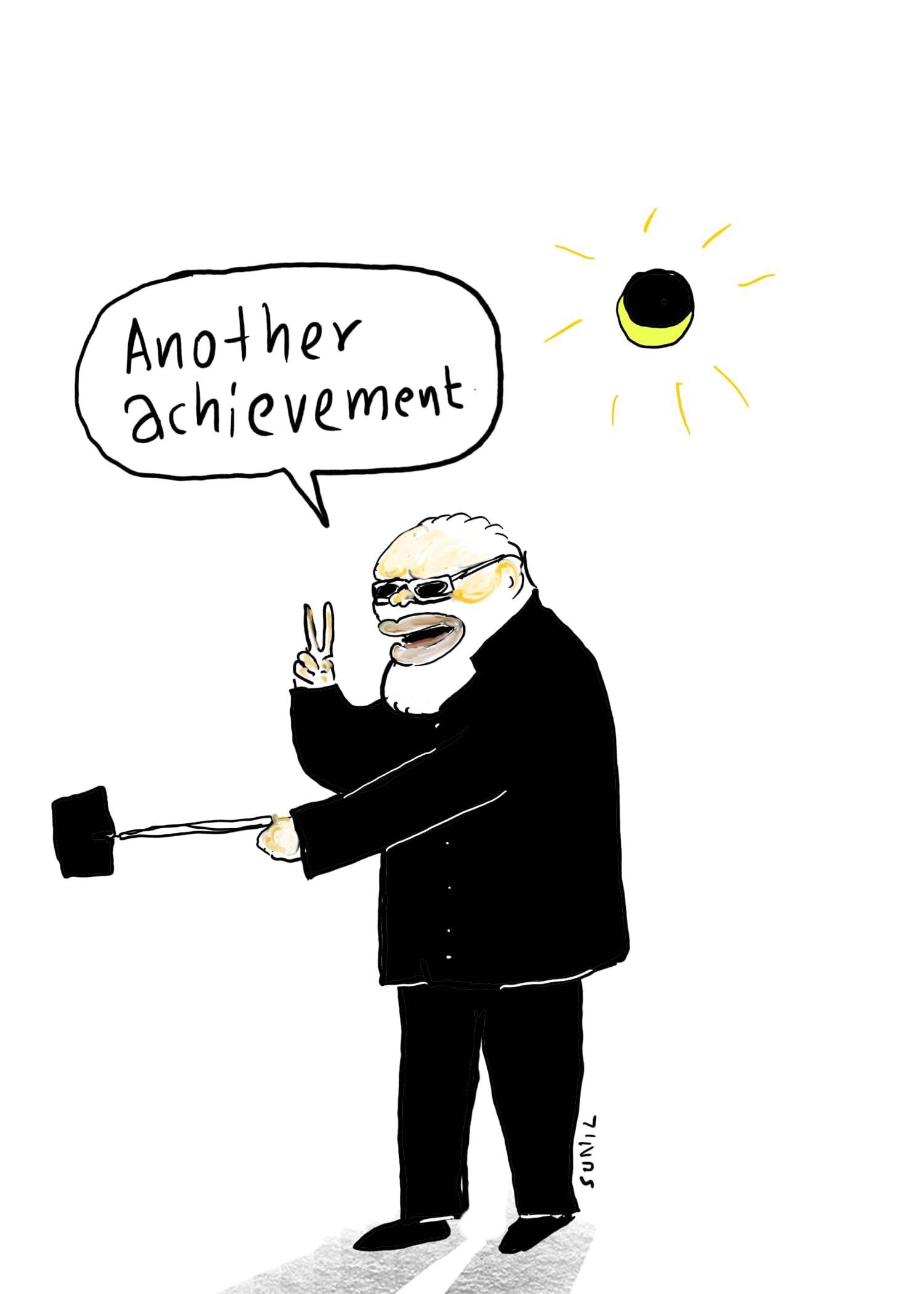 Modi  hai to mumkin hai.. இதுவும் எங்க சாதனைதான்! | கார்ட்டூன்