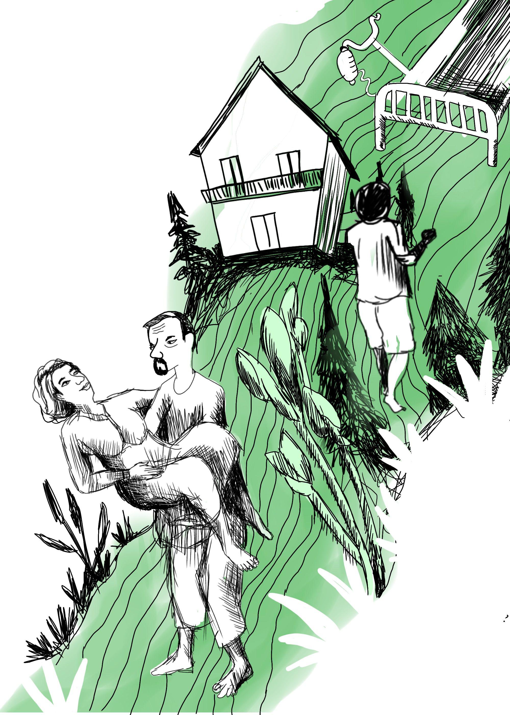 മുറിവേറ്റവർക്കുള്ള കഥകൾ-ചിത്രീകരണം: അനസുല്