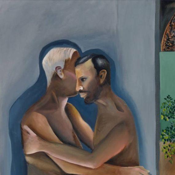 समलैंगिगता दिखाने वाली इस पेंटिंग ने नीलामी के तोड़े सारे रिकॉर्ड