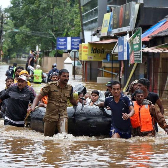 Floods kill twice as many people in India than China